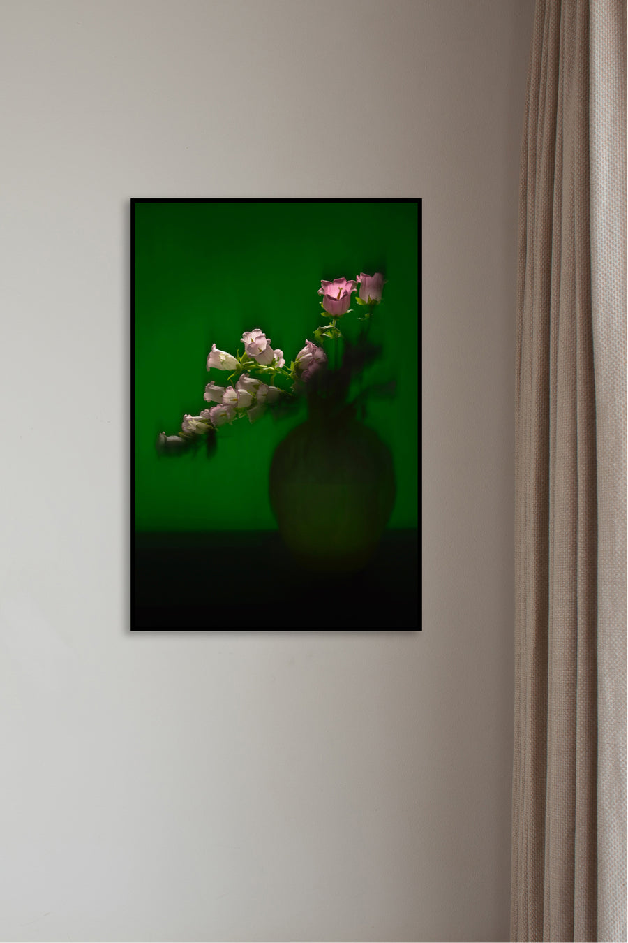 Flowers in Green