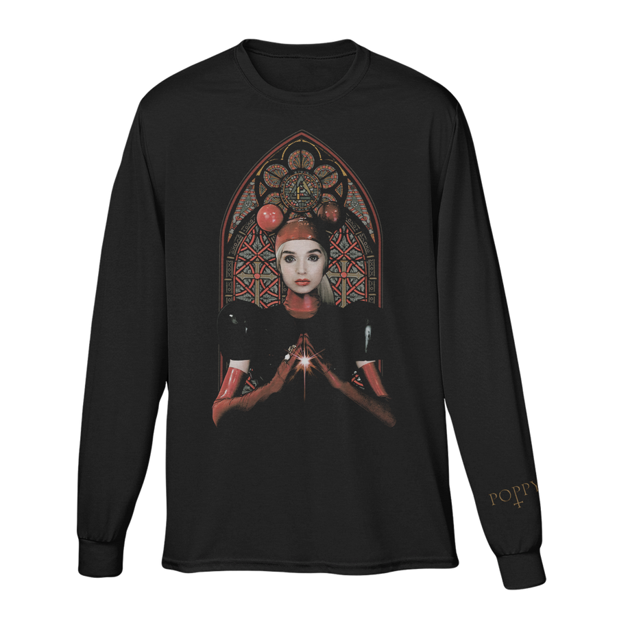 STAINED GLASS LONG SLEEVE - Poppy