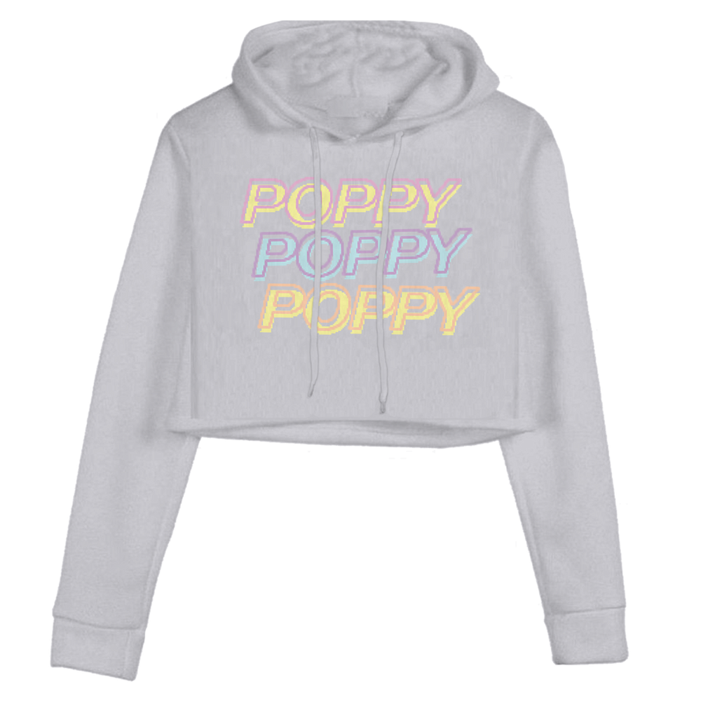 POPPY 3X CROPPED PULLOVER