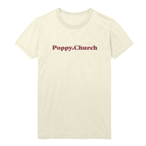 POPPY.CHURCH TEE - Poppy