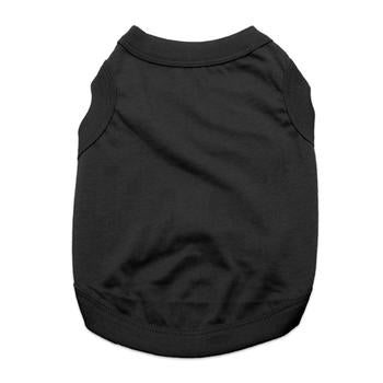 Barking Basics Dog Tank Shirt - Black