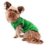 Barking Basics Dog Tank Shirt - Emerald Green