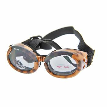 Doggles - ILS2 Leopard Frame with Smoke Lens