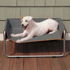 Insect Shield Pet Cot - Slate