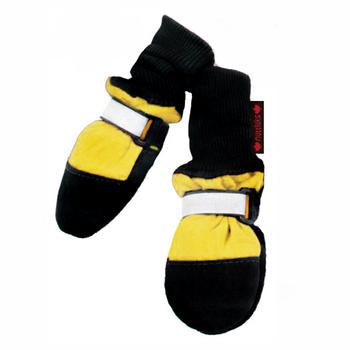 Muttluks All-Weather Dog Boots - Yellow