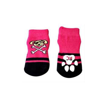 Pirate Girl PAWks Dog Socks