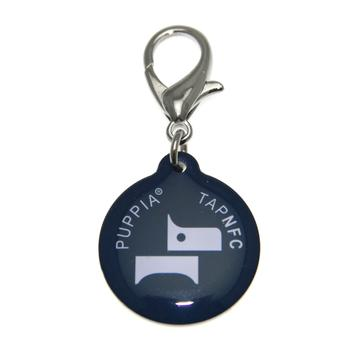 PP Smart Tag Pet ID Tag by Puppia - Navy