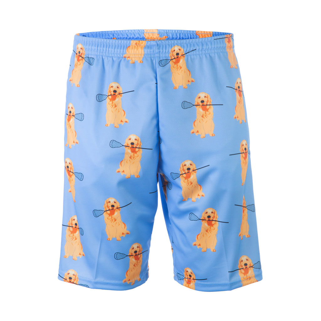 Golden Retriever Lacrosse Shorts