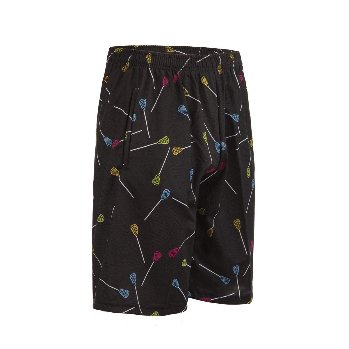 Cool Boys Lacrosse Shorts - Neon Sticks