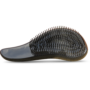 Front View of the Bel Homme Beard Bully Detangling Brush. Detangles the hair and massages the skin to circulate the blood flow.