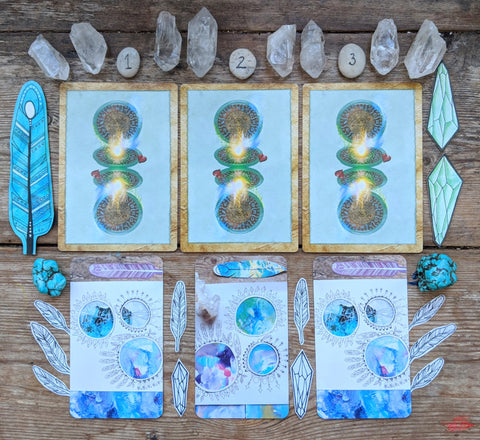 Free Card reading of the week sacred wild soul intentions