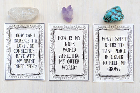 The questions deck what do I ask my tarot deck