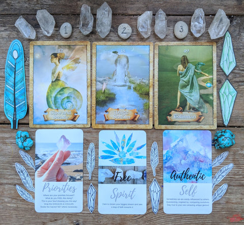 Full free card reading the enchanted map oracle and sacred wild oracle