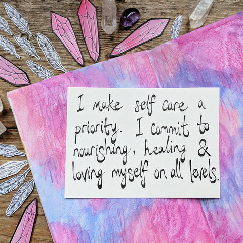 Self care mantra