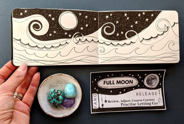 Moon Phases printable cards (Download)