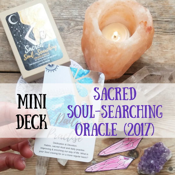 Sacred Soul- Searching Oracle (mini deck)