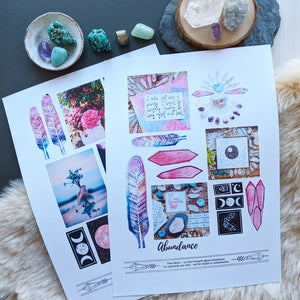 PINK MOON Journal Bundle- Journaling -printable DIGITAL DOWNLOAD