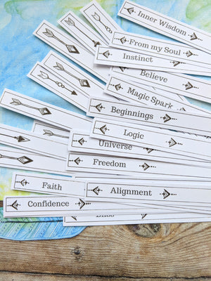 The STICK PROMPT ORACLE Deck-printable DIGITAL DOWNLOAD