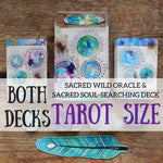 PRE-ORDER- The TAROT sized Sacred Wild & Soul Searching Oracle! (All 60 cards)