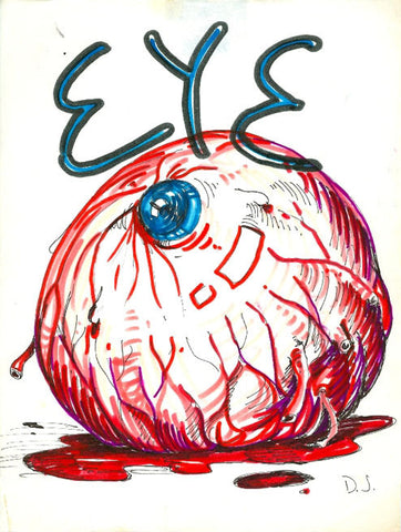 DANIEL JOHNSTON- Dead Dog Eye