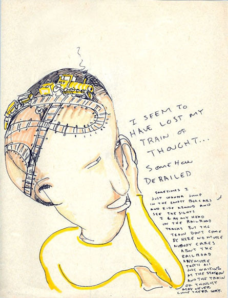 54162f173a0f Worried shoes - DANIEL JOHNSTON- Train of Thought