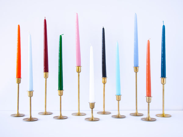 Brass Taper Candle Holders