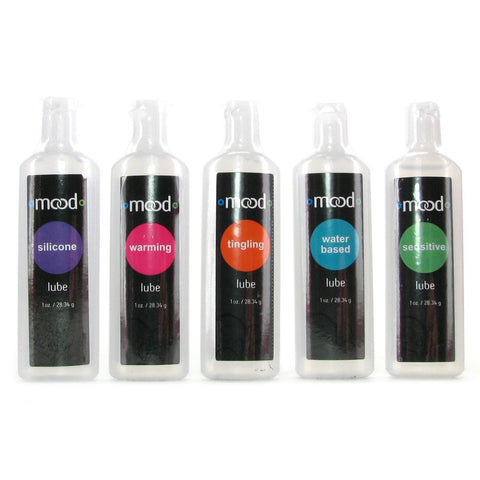 Mood Lubricant Sampler Assorted 5 Pack by Doc Johnson