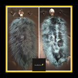 Signature Handcrafted Tail - Dark Teal w/ Glass Plug