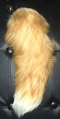 Creamsicle Fox Tail