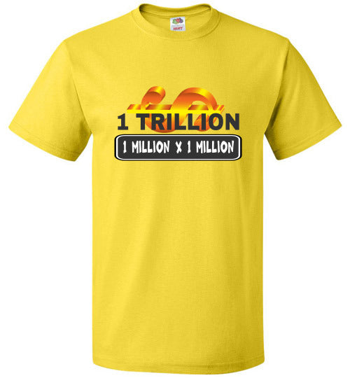 Unisex FOL T-Shirt | 1 Trillion - Yellow