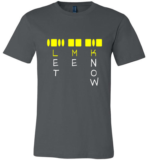 Chat Term T-shirt | LMK Let Me Know