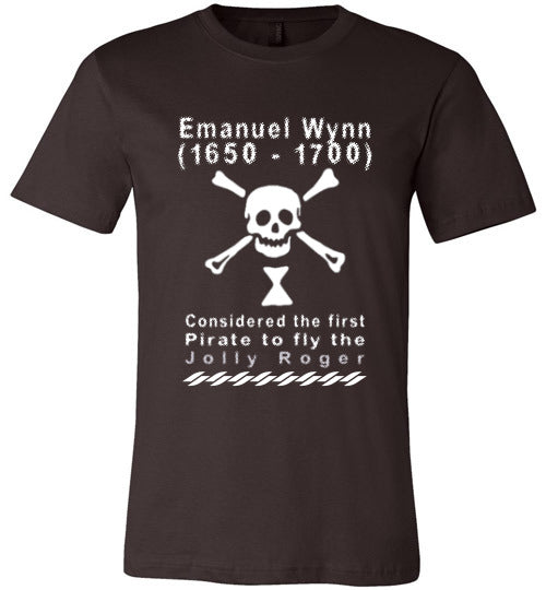 Pirates T-Shirt | Emanuel Wynn - Brown
