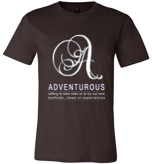 Canvas Unisex T-Shirt | Adventurous - Brown