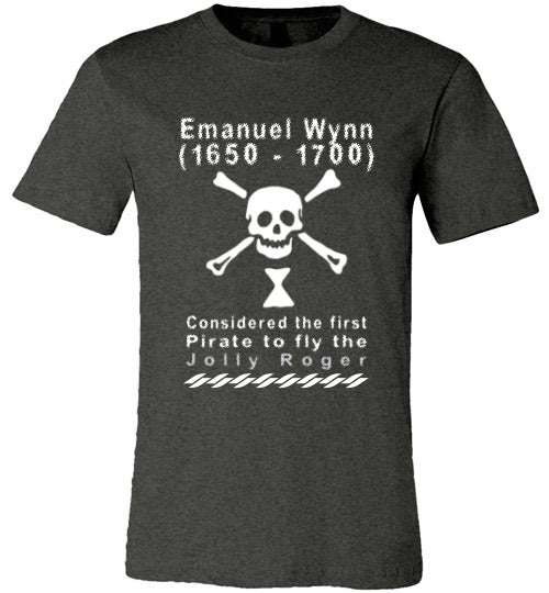 Pirates T-Shirt | Emanuel Wynn - Dark Grey Heather