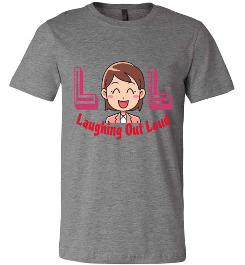 Chat Term T-shirt | LOL Laughing Out Loud