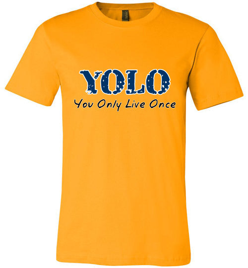 Chat Term T-shirt | YOLO You Only Live Once