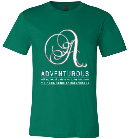 Canvas Unisex T-Shirt | Adventurous - Kelly