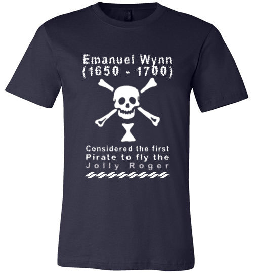 Pirates T-Shirt | Emanuel Wynn - Navy