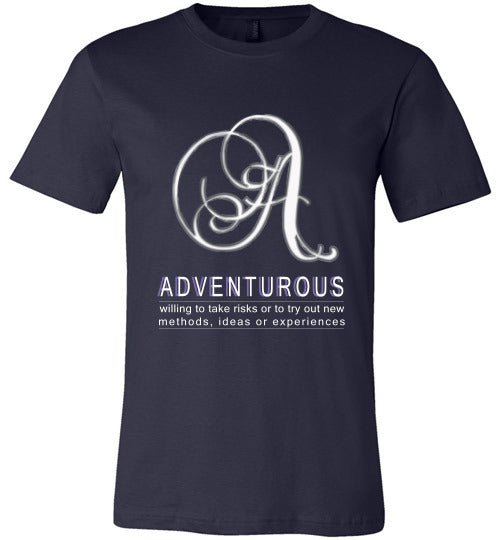Canvas Unisex T-Shirt | Adventurous - Navy