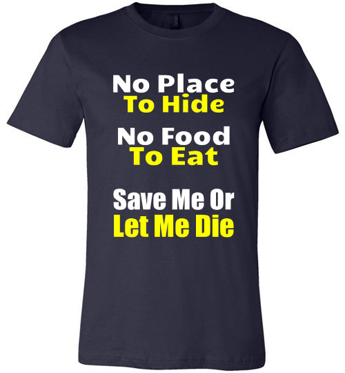 Stray Dog Design Unisex T-Shirt| Save Me or Let Me Die