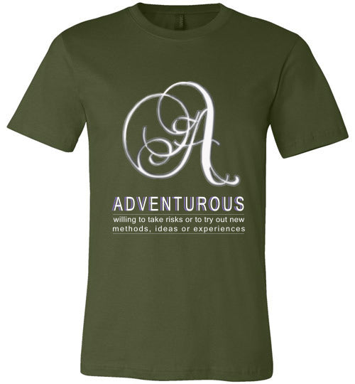 Canvas Unisex T-Shirt | Adventurous - Olive