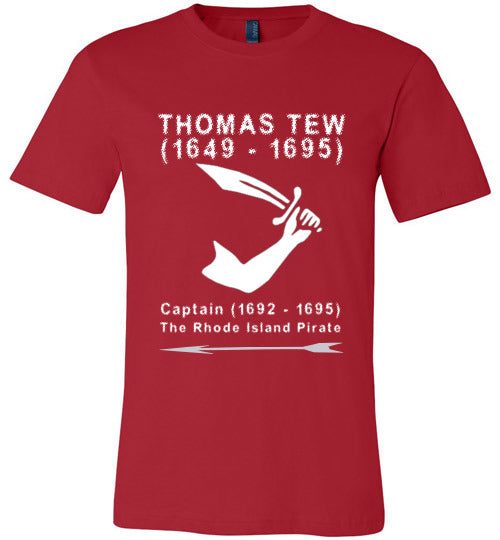 Pirates T-Shirt | Thomas Tew - Red