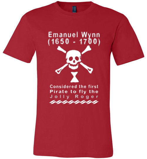 Pirates T-Shirt | Emanuel Wynn - Red