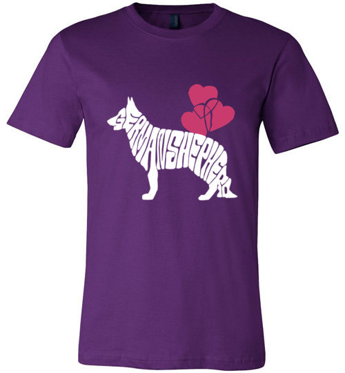 Dogs T-shirt | Love German Shepherd