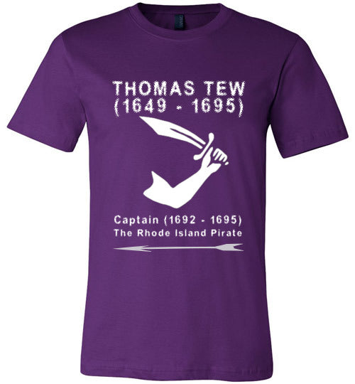 Pirates T-Shirt | Thomas Tew - Team Purple