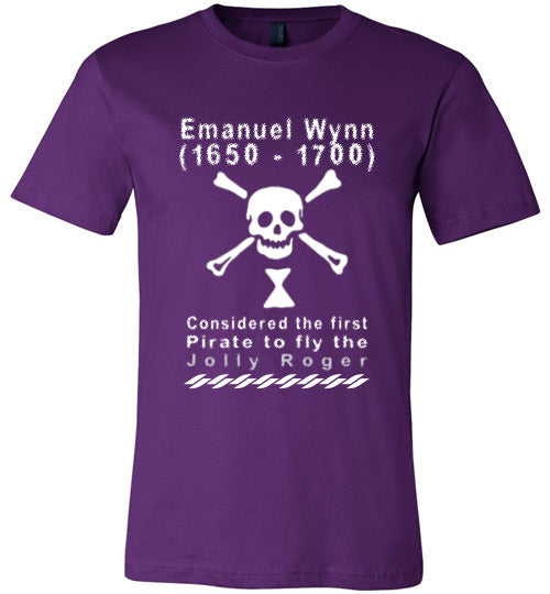 Pirates T-Shirt | Emanuel Wynn - Team Purple