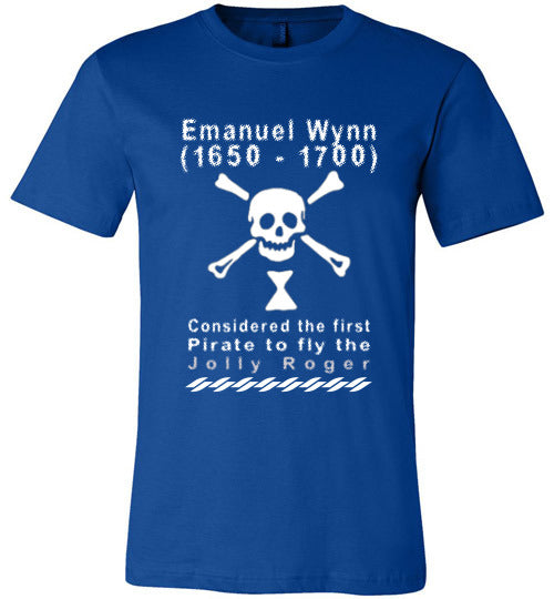 Pirates T-Shirt | Emanuel Wynn - True Royal