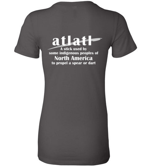 T-Shirt Wordings - Educational Word - Atlatl