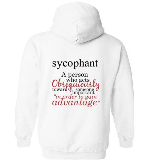 T-Shirt Wordings - Educational Word - Sycophant