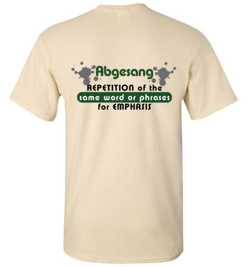 T-Shirt Wordings - Educational Word - Abgesang